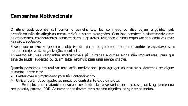 Campanhas Motivacionais