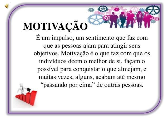 Motivação E Trabalho Em Equipe