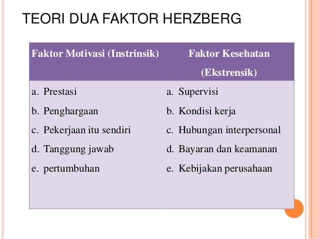 frederick herzberg two factor theory pdf
