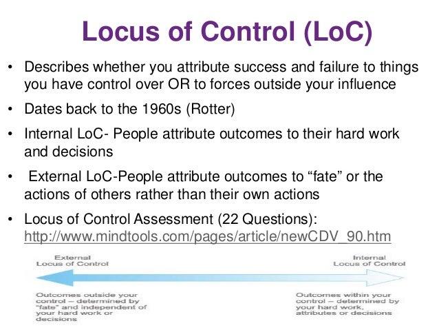 Motivating Clients to Develop Positive Financial Behaviors – Locus Worksheet