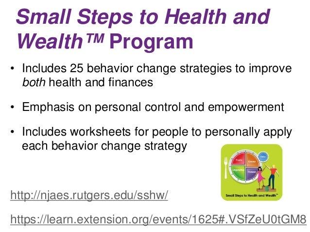 Motivating Clients to Develop Positive Financial Behaviors – Behavior Worksheets