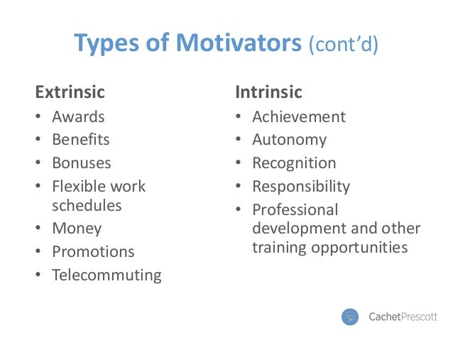 Got Motivation? The Who, What and Why of Successfully Motivating Empl…