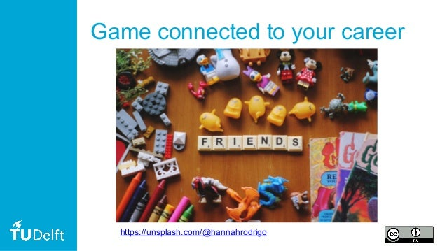 Game connected to your career https://unsplash.com/@hannahrodrigo
