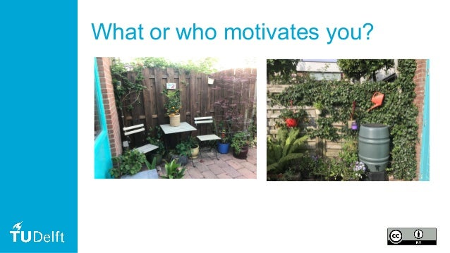 What or who motivates you?
