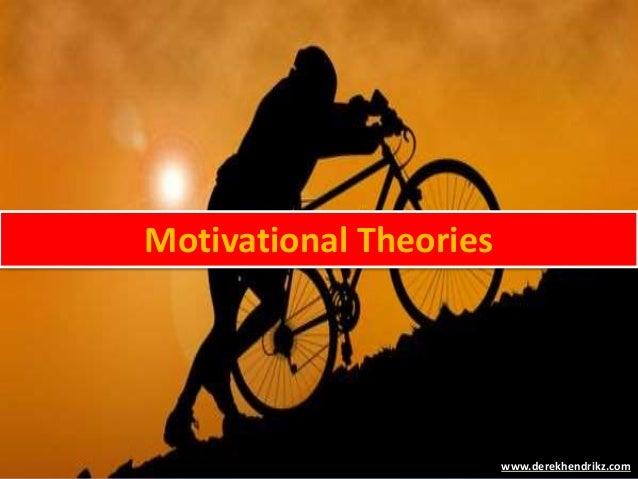 Motivational Theories www.derekhendrikz.com