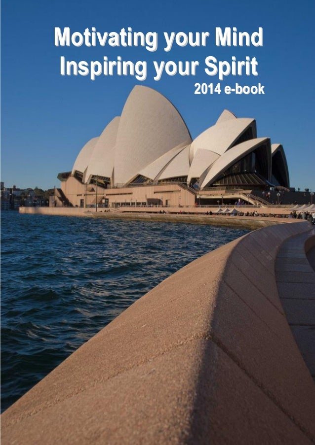 Motivating your Mind Inspiring your Spirit  2014 e-book