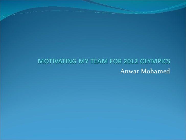 Anwar Mohamed