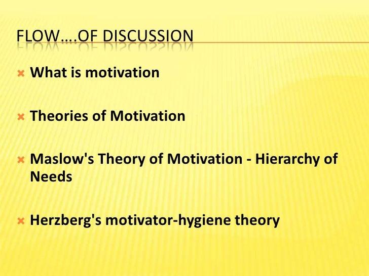 Theories of Motivation Slide 2
