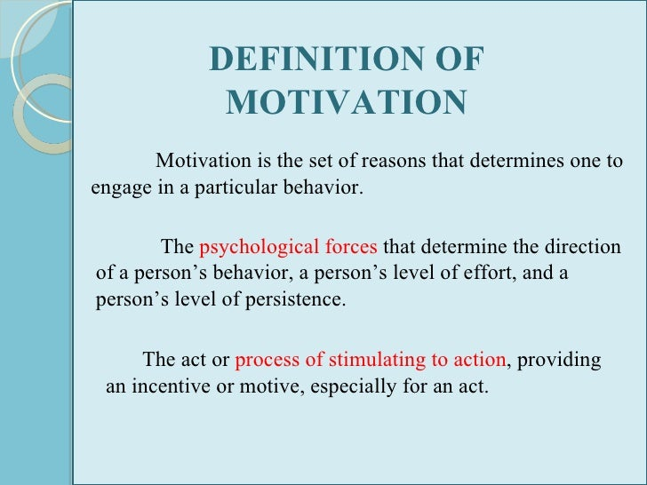 the meaning of motivation in the Definition of motivation in the audioenglishorg dictionary meaning of motivation what does motivation mean proper usage and pronunciation (in phonetic.