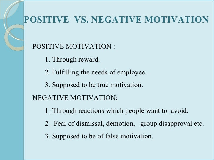Examples of Negative Reinforcement