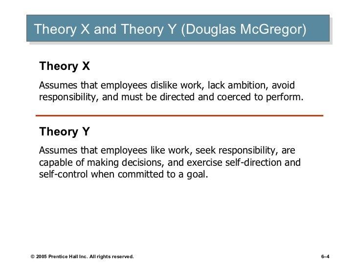 Motivational Theories Of Douglas Mcgregor And Fredrick Herzberg