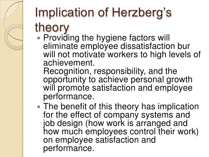 herzberg theory implication at kfc Bühler is the global specialist and technology partner in the supply of plants and services for processing grain and food as well as for manufacturing advanced materials.