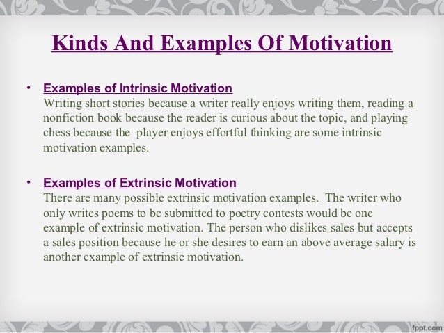 intrinsic motivation essay paper Question case analysis joe, stacie, and shannon are all employees within the same organization consider each employee's characteristics below then address the questions following the employee descriptions.