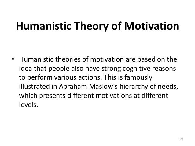 a description of the motivation theories Order description motivation theories assignment  selecting from the motivation theories above, choose three of the theories that you think are most appropriate and explain how dick solomon's attempts to motivate the waitress can be explained by each theory be explicit in linking how both dick's and the waitress' specific behaviors.