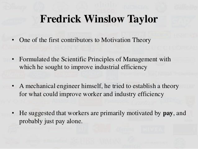 management theorist frederick winslow taylor essay Ffredrick winslow taylor essay history of fwtaylor frederick winslow taylor management theory frederick taylor's scientific management.