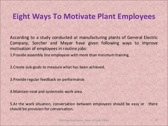 general electric employee motivation Motivate your employees like jack welch  motivation starts with employee engagement, and engagement begins with effective communication skills  former ceo of general electric (ge) and .