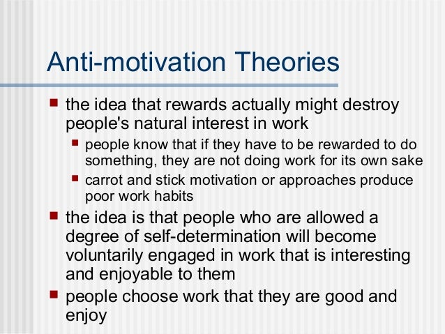 carrot and stick motivation theory pdf