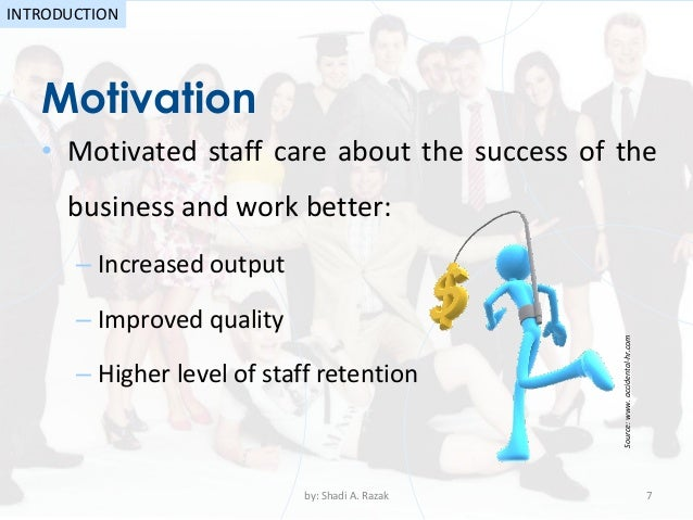 an overview of motivation theories in business Frederick herzberg's theory of motivation: overview understanding motivation in the business setting isn't workplace motivation: theories.