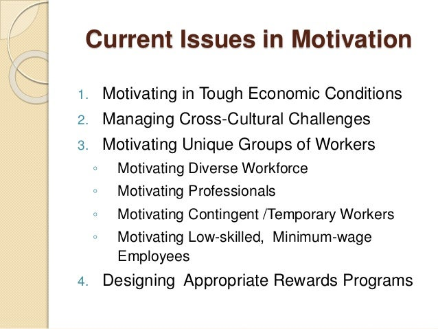 motivate a diverse workforce Retrieved from gaston, charlie how can a manager motivate diverse workers.