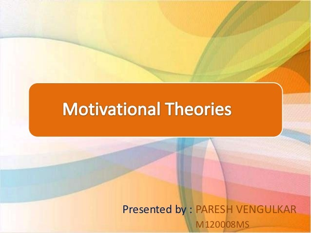 literature review on motivation theories Understanding motivation: a review of relevant literature mike barker it explore in detail those motivational theories relevant to the language learning process.