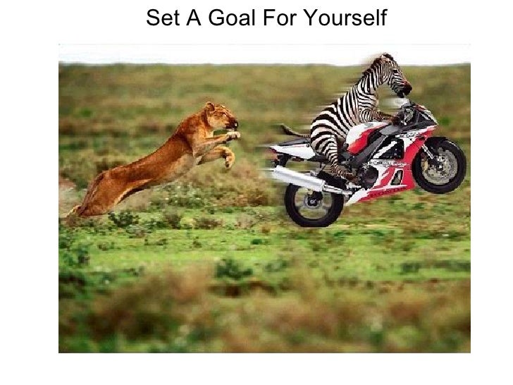 Set A Goal For Yourself
