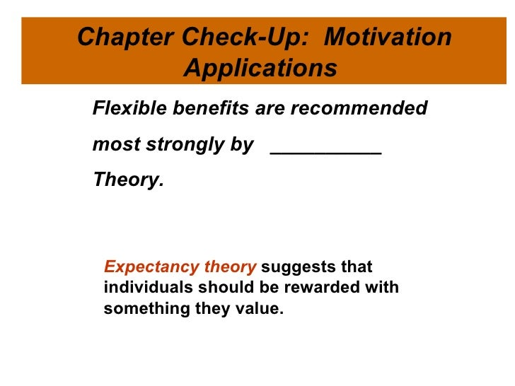 professor use equity theory to motivate student Herzberg's two-factor theory of motivation applied to the motivational  equity theory (1965) (ruthankoon,  managers should use this theory to identify the.