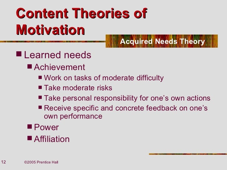 theories motivation 1 Start studying ch 12-1: theories of motivation learn vocabulary, terms, and more with flashcards, games, and other study tools.