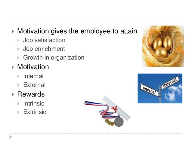 the relationship between extrinsic rewards and job satisfaction Relationship between intrinsic rewards and job satisfaction: a comparative study of public and private organization muhammad tausif comsats institute of information technology.