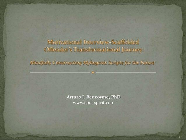 Arturo J. Bencosme, PhD  www.epic-spirit.com  1