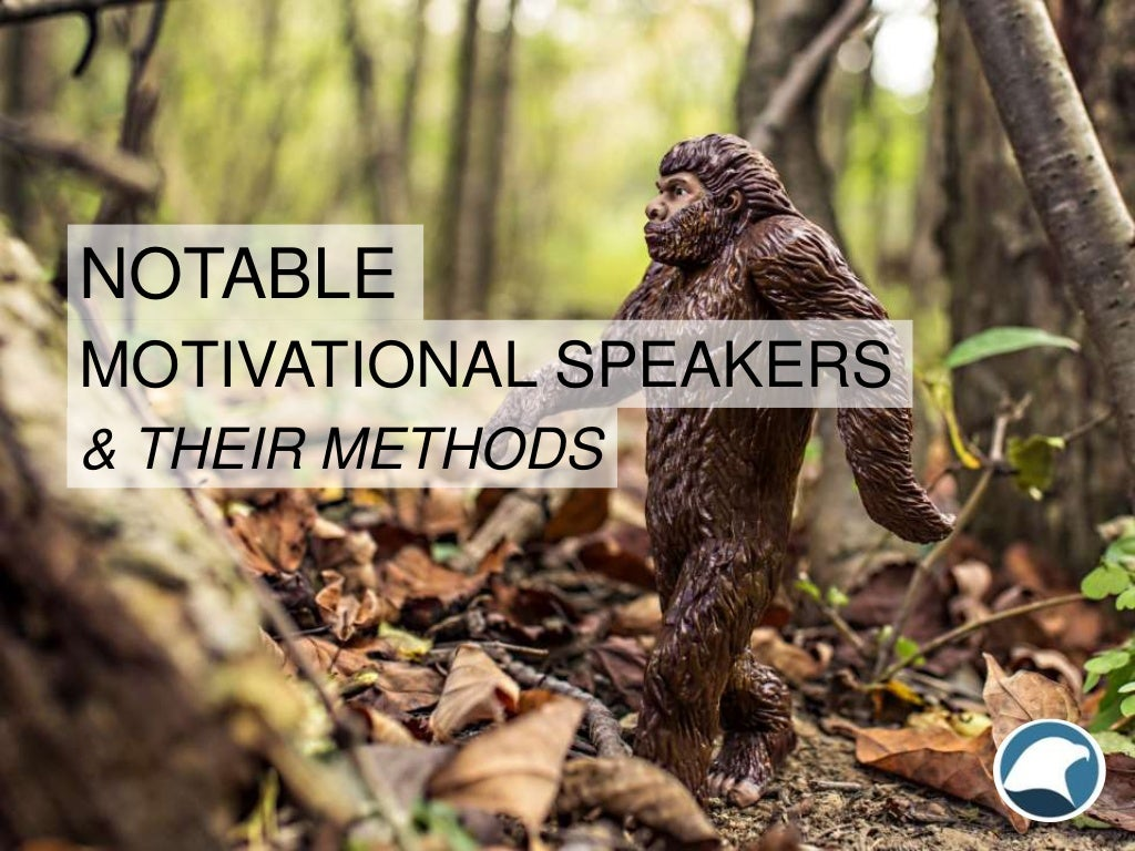 Notable Motivational Speakers and Their Methods