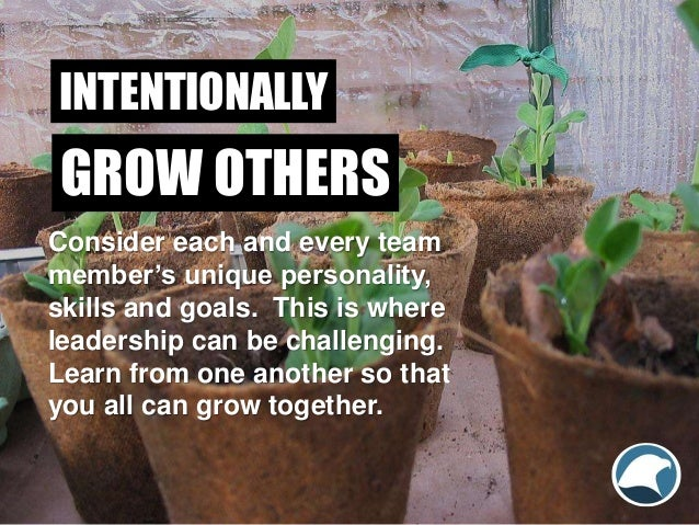 Consider each and every team member's unique personality, skills and goals. This is where leadership can be challenging. L...