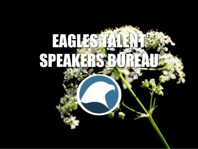EAGLES TALENT SPEAKERS BUREAU