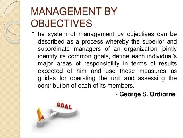 management objectives mbo its advantages and disadvantages Management by objectives at its core is the process of employers features and advantages the principle of mbo is for employees to have a clear.