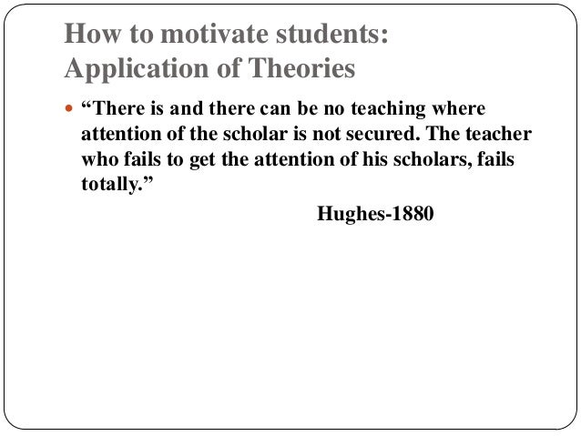 application of motivational theory in the A qualitative approach and theory based application were considered for this  study keywords: motivation, job satisfaction, intrinsic, extrinsic.