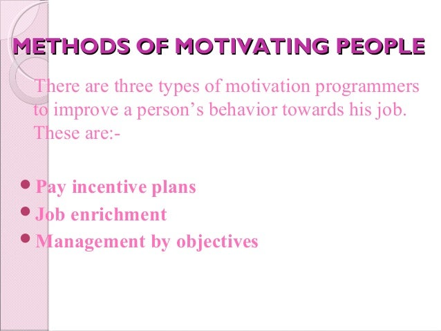 factors determining motivational What factors are relevant in determining why agents remain employed in extension this article discusses the implications of maintenance and moti.