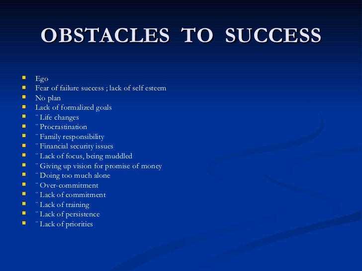 Influences of students success