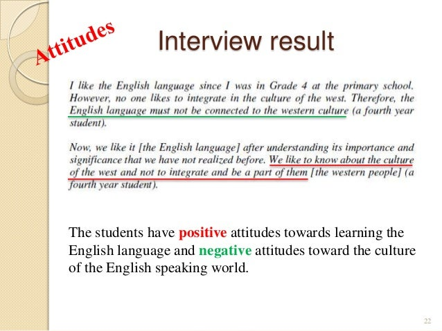 motivation and atitudes towards learning Motivation and attitude provide primary impetus to initiate learning language 2   students' motivation and attitudes towards learning a second language: british.