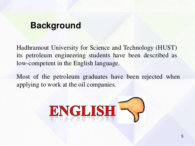 motivation learning english thesis Motivation towards learning the english language • to determine the type of attitude that petroleum engineering students have towards.
