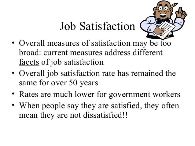 work motivation and job satisfaction An investigation of the relationship between work  the direct relationship between work motivation  interesting work, job appreciation, satisfaction.