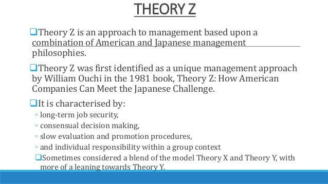 theory x z Theory x and theory y relate to maslow's hierarchy of needs in how human behavior and motivation are main priorities in the workplace in order to maximize output in.