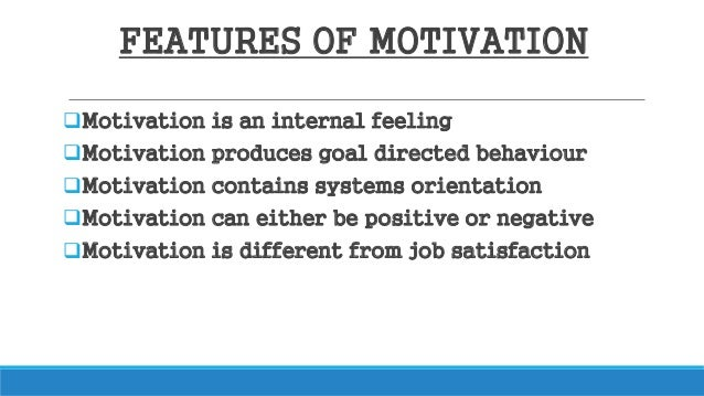 an introduction to the importance of motivation and goals Motivation is defined as the desire and action towards goal-directed behavior this is an important concept in psychology as well as in business, schools, and other areas for example, we want our children to behave and do their homework.