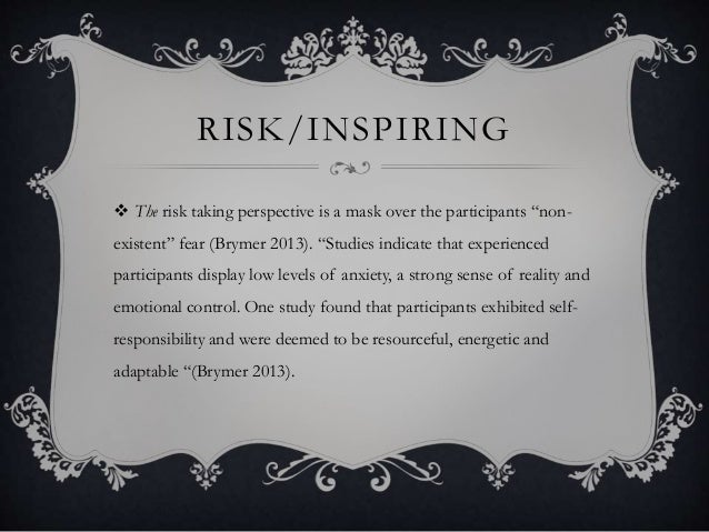 motivation desire essay presentation risk inspiring  the risk taking