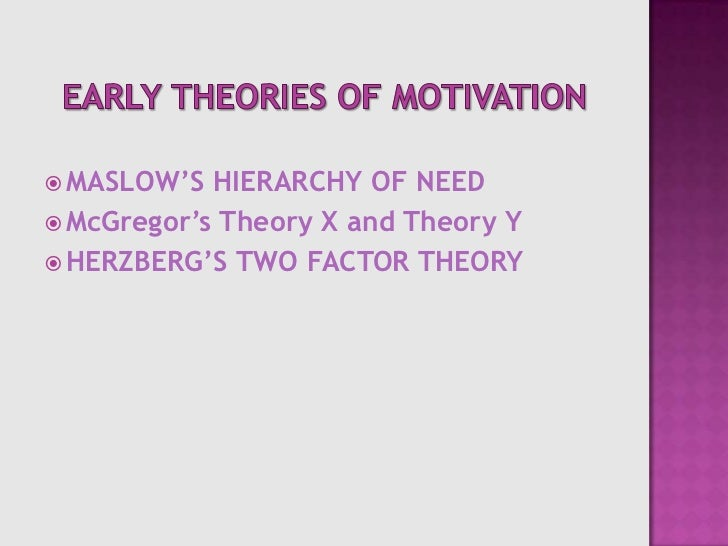 motivation and job satisfaction theories essay The importance of job satisfaction management essay will affect the motivation yet job satisfaction job satisfaction theory theories that are related to.