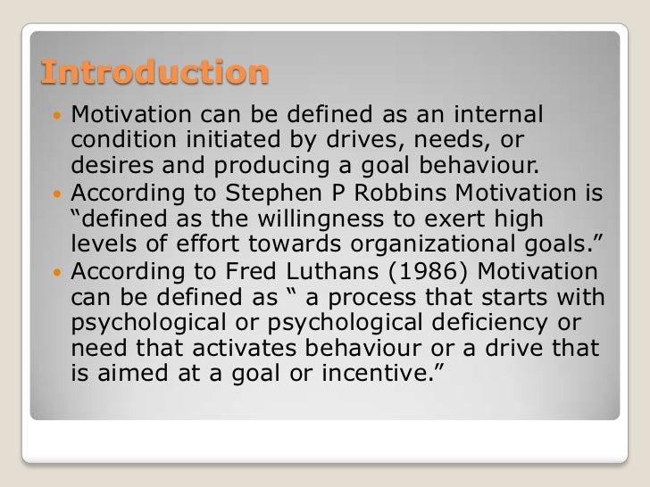 Motivation (final ppt) Slide 2