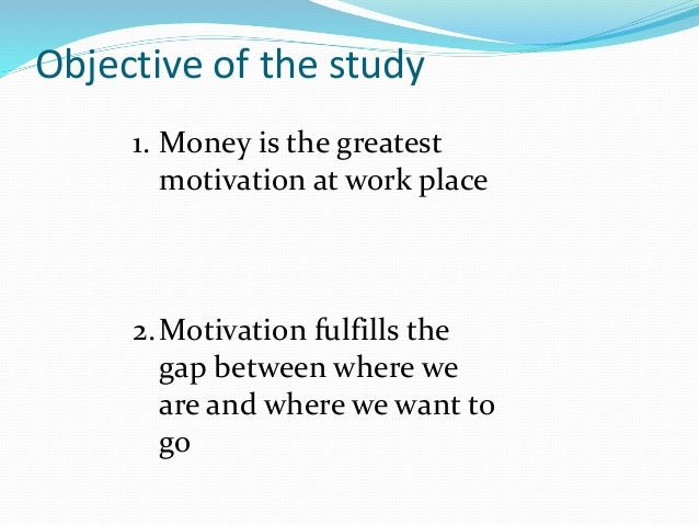 To what extent is money a motivator for employees
