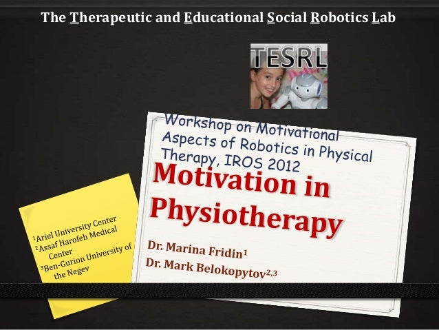 The Therapeutic and Educational Social Robotics Lab
