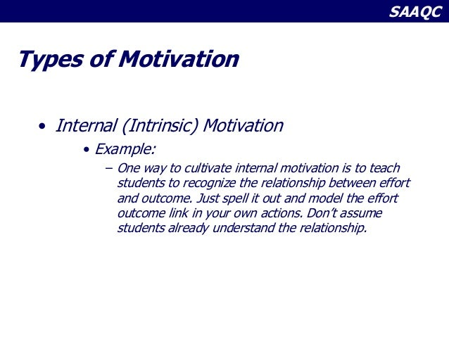 intrinsic and extrinsic motivation in the classroom pdf