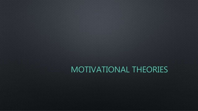 motivational theories for travel and tourism Theories a number of various theories attempt to describe employee motivation within the discipline of i–o psychology most of these theories can be divided into.