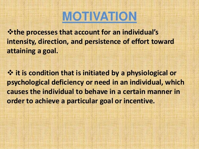 motivation and job performance Within management scholarship, a common link has been established between  motivation and job performance this is based on the argument.