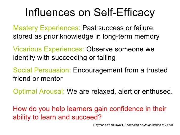 self efficacy and motivation pdf